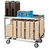 Cook's Brand TDC1914SS SS Tray Delivery Cart