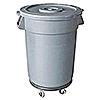 Economy 44 Gallon Gray Waste Container
