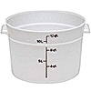 Cambro Translucent 12 qt. Round Food Storage Containers