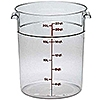 Cambro Camwear 22 qt. Round Food Storage Containers
