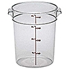 Cambro Camwear 4 qt. Round Food Storage Containers
