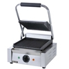 "Adcraft 8"" Grooved Sandwich Grill"