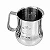 Economy 40 oz Measuring Milk Pitcher | Measures