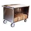 Sammons 2008-2849-2-EHD Enclosed Tray Delivery Cart