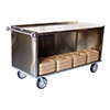 Sammons 2008-2865-2-EHD Enclosed Tray Delivery Cart