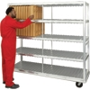 New Age Industrial Extra Heavy Duty 224 Insulated Tray Drying Rack