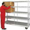 New Age Industrial Extra Heavy Duty 384 Cafeteria Tray Drying Rack