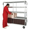 New Age Industrial Heavy Duty 176 Insulated Tray Drying Rack
