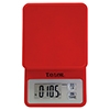 Taylor 3817R 11 lb Red Compact Digital Scale