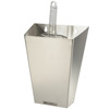 Infra Corporation 64oz (open lid) Stainless Steel Ice Scoop Holder