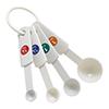 Winco MSPP-4 Plastic Measuring Spoons