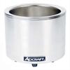 Adcraft Round Food Warmer