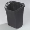 Carlisle CC11TH03 Black Trash Bin