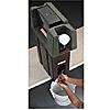 Cambro White Handwash Pail w/Bail