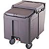 Cambro ICS125L131 Brown SlidingLid Short Ice Caddy