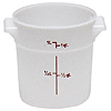 Cambro Poly 1 qt. Round Food Storage Containers