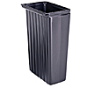Cambro 11 Gal. Black Trash Container