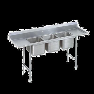 Advance Tabco 9-83-60-18RL Regaline Sink 3-Compartment