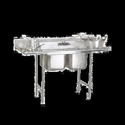 Advance Tabco 93-22-40-24RL Regaline Sink 2-Compartment