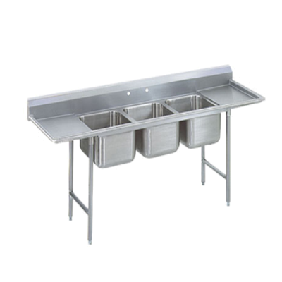 Advance Tabco 93-63-54-18RL Regaline Sink 3-Compartment