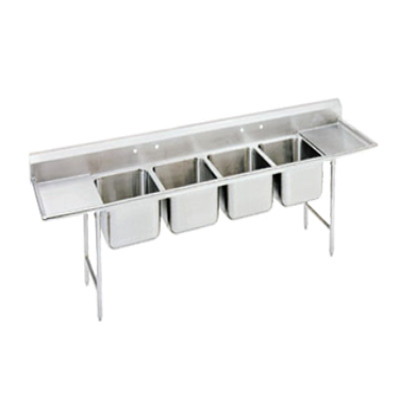 Advance Tabco 94-44-96-36RL Regaline Sink 4-Compartment