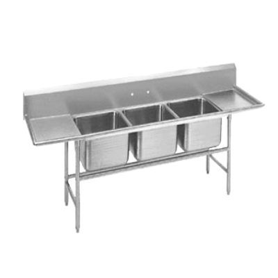 Advance Tabco 94-83-60-24RL Regaline Sink 3-Compartment