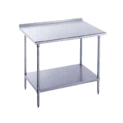 """Advance Tabco FMS-304 Work Table 30"""" Wide Top"""