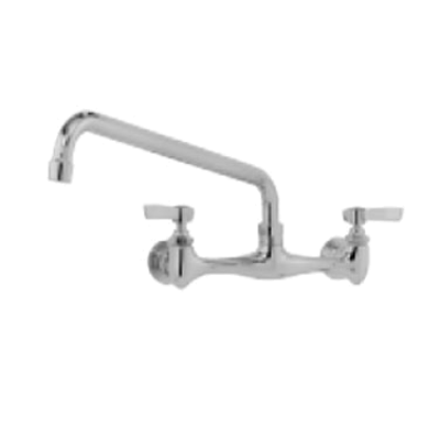 """Advance Tabco K-119 16"""" Swing Spout Splash Mounted Faucet"""