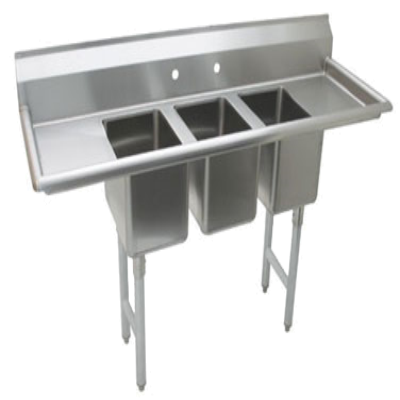 Advance Tabco K7-CS-21 3-Compartment Convenience Store Sink
