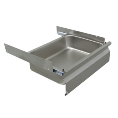 "Advance Tabco SS-2020-X Deluxe Drawer 20""W X 20""D X 5"" Deep Drawer Pan Insert"