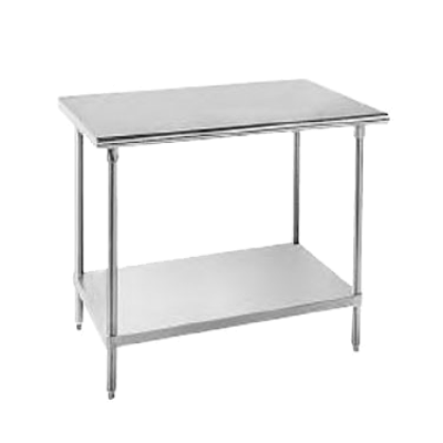 """Advance Tabco SS-306 Work Table 30"""" Wide Top"""
