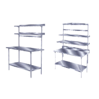 Advance Tabco SWT-96 Pot Rack Table Mounted