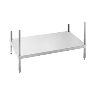 Advance Tabco US-30-48 Work Table Undershelf 18 Gauge 430 Series Stainless Steel