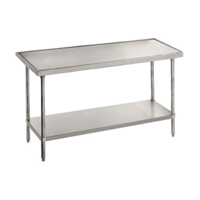 """Advance Tabco VSS-244 24"""" Wide Top Work Table"""