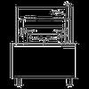 Blodgett Steam CB24G-10K Boiler Base Cabinet Gas