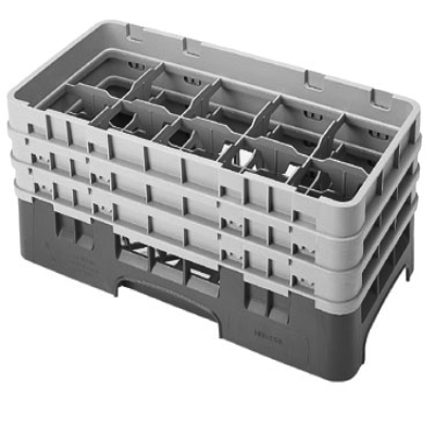 Cambro 10HS638167 Camrack Glass Rack with 3 Extenders