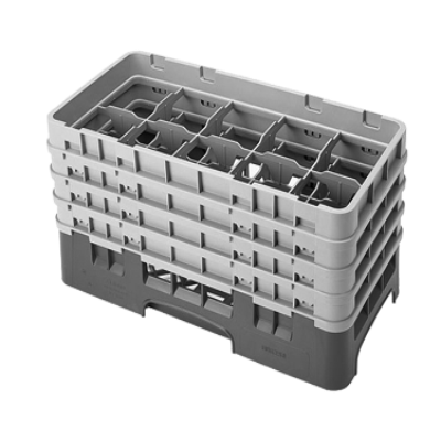 Cambro 10HS800184 Camrack Glass Rack with 4 Extenders
