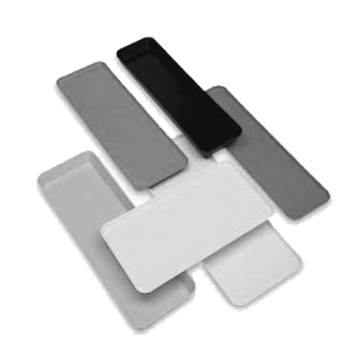 "Cambro 1230MT148 Market Display Tray 12-7/16"" X 30"" X 3/4"""