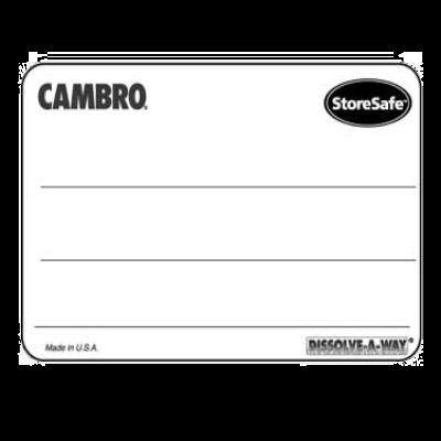 "Cambro 1252SLINB250 Storesafe Food Rotation Label 1-1/4"" X 2"""