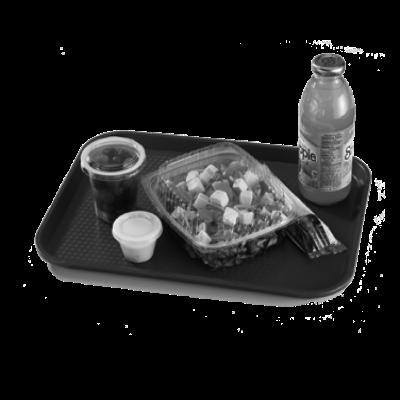 "Cambro 1418FF163 Fast Food Tray 13-13/16"" X 17-3/4"""