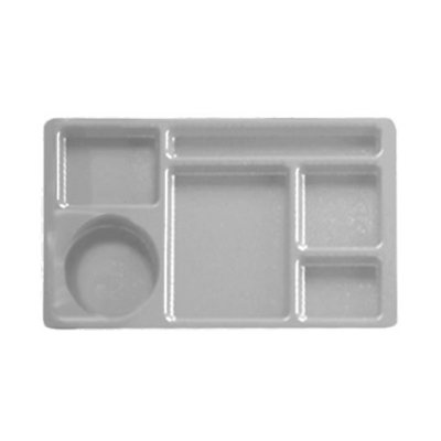 Cambro 1596CP416 Camwear 2 X 2 Compartment Tray 6-Compartment