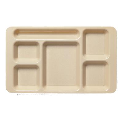 Cambro 1596CW186 Camwear 2 X 2 Compartment Tray 6-Compartment