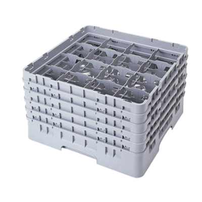 Cambro 16S1058151 Camrack Glass Rack with 5 Extenders