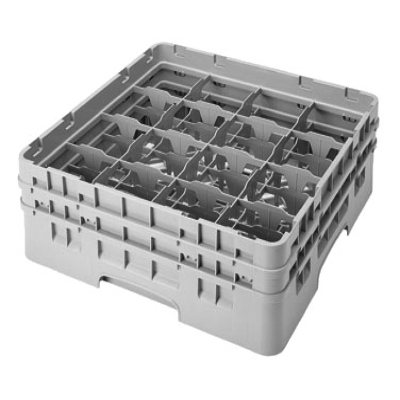 Cambro 16S434110 Camrack Glass Rack with 2 Extenders