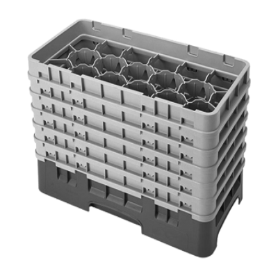 Cambro 17HS1114416 Camrack Glass Rack with 6 Extenders