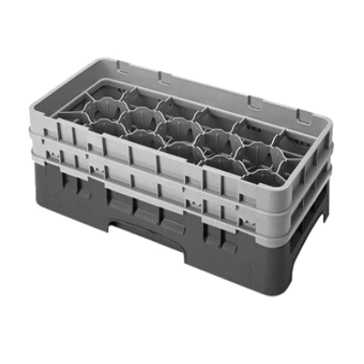 Cambro 17HS434167 Camrack Glass Rack with 2 Extenders