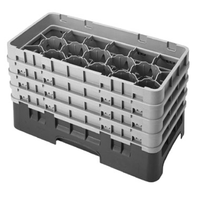 Cambro 17HS800167 Camrack Glass Rack with 4 Extenders