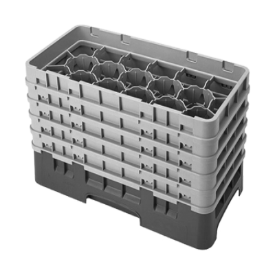 Cambro 17HS958151 Camrack Glass Rack with 5 Extenders