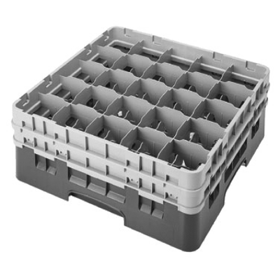 Cambro 25S534414 Camrack Glass Rack with 2 Extenders