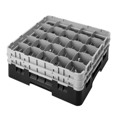 Cambro 25S738167 Camrack Glass Rack with 3 Extenders